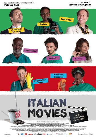 Cleaners Emigrants From All Over The World Work In Night Shift At Studio Sound Stages Where Italian Soap Operas Are Filmed Once They Find Unlocked One Of